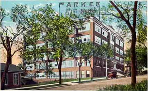 arrow park Parker fountain pen factory